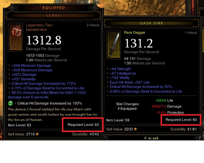 Diablo Itemization