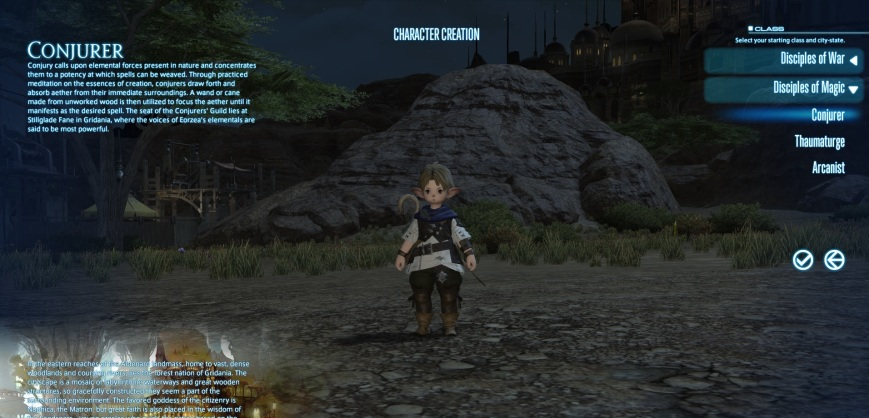 FF14 Character Creation
