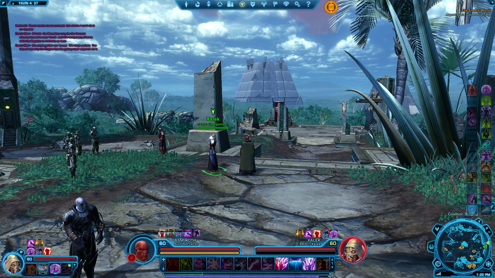 Yavin Star Map Screenshot