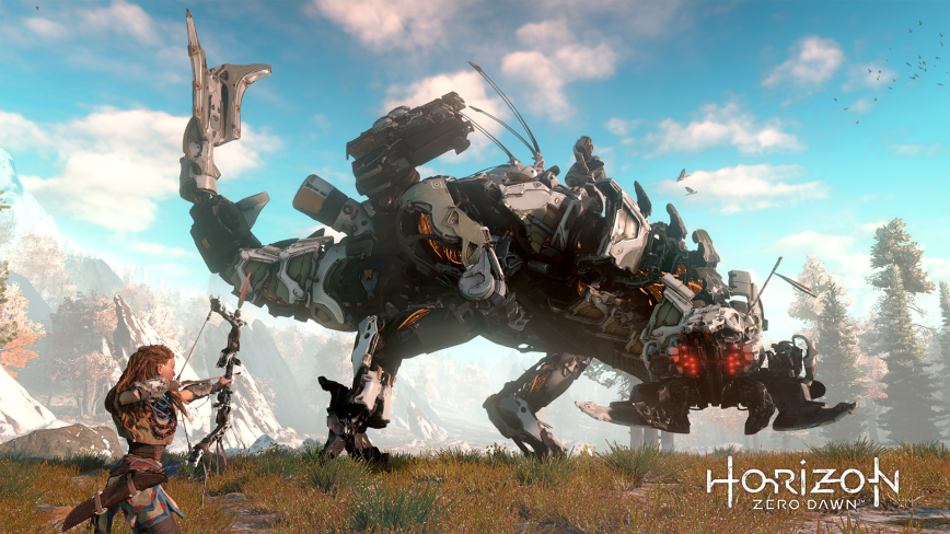 horizon_zero_dawn_aiming_at_thunderjaw1